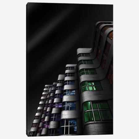 Shellhaus Color Canvas Print #OXM3123} by Matthias Hefner Canvas Artwork