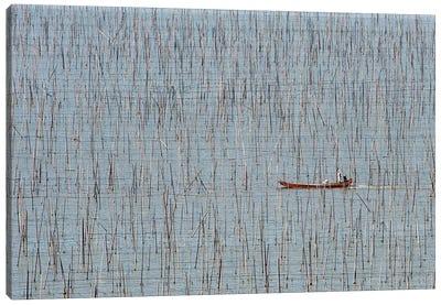 Fishermen Canvas Art Print