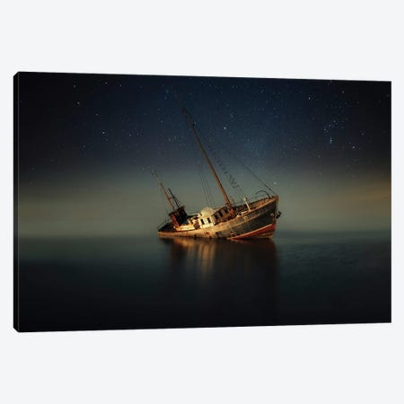 In The Light Of The Moon Canvas Print #OXM3129} by Mika Suutari Canvas Artwork