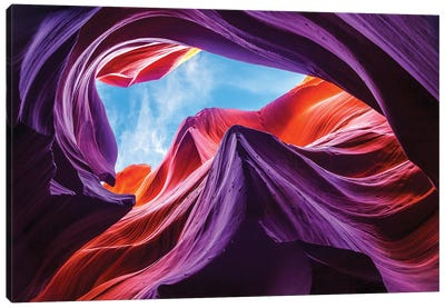 Magical Lower Antelope Canyon Canvas Art Print