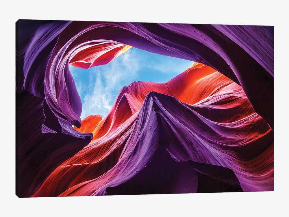Magical Lower Antelope Canyon by Nanouk El Gamal 1-piece Canvas Artwork