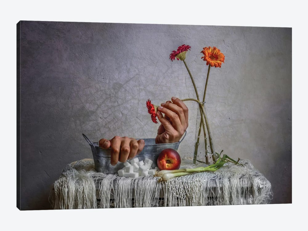 Still Life by Haik Ahekian 1-piece Canvas Print