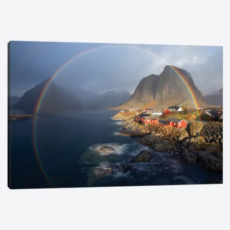 In The Rainbow Canvas Print #OXM3145} by Nicolas Schneider Art Print