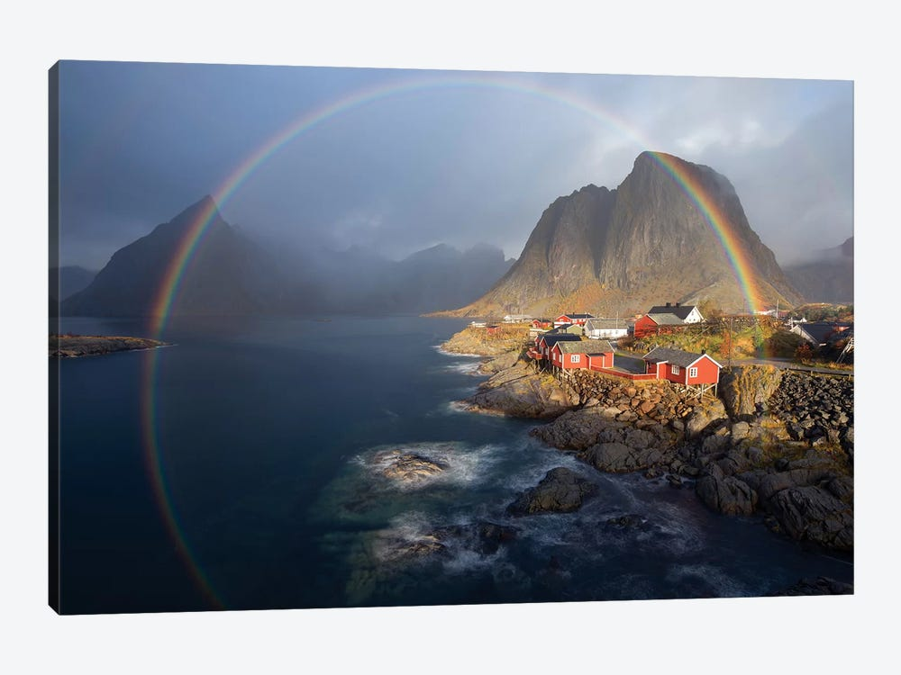 In The Rainbow by Nicolas Schneider 1-piece Canvas Art Print