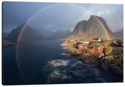 In The Rainbow Canvas Art Print