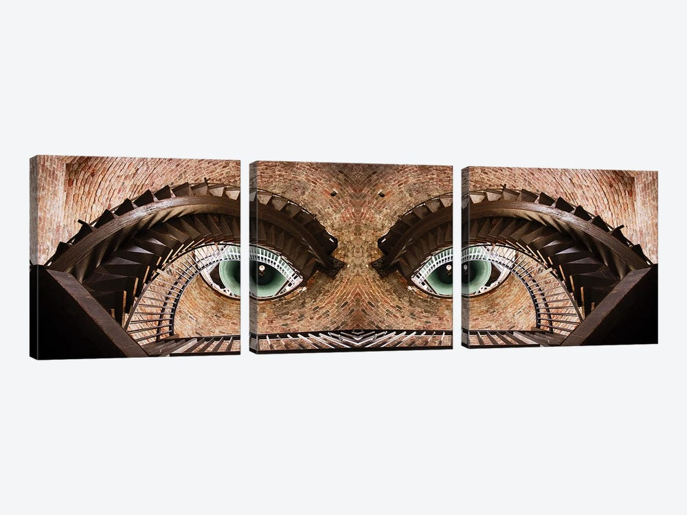 Watching You by Paco Palazon 3-piece Canvas Artwork
