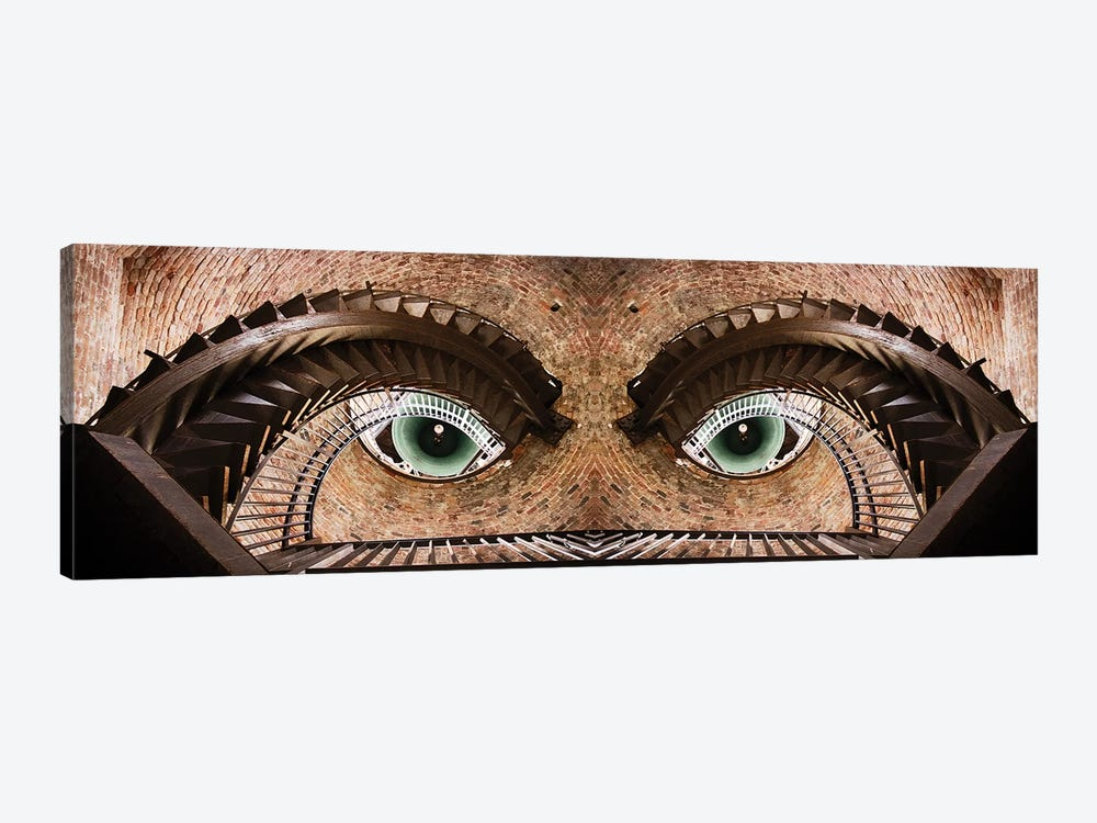 Watching You by Paco Palazon 1-piece Canvas Wall Art