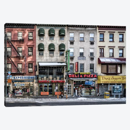 A Cold Day In NY Canvas Print #OXM3155} by Peter Pfeiffer Canvas Wall Art