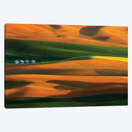 The Colorful Land Canvas Print #OXM3160} by Phillip Chang Canvas Art