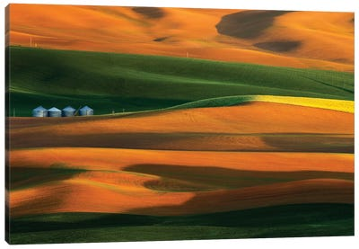 The Colorful Land Canvas Art Print