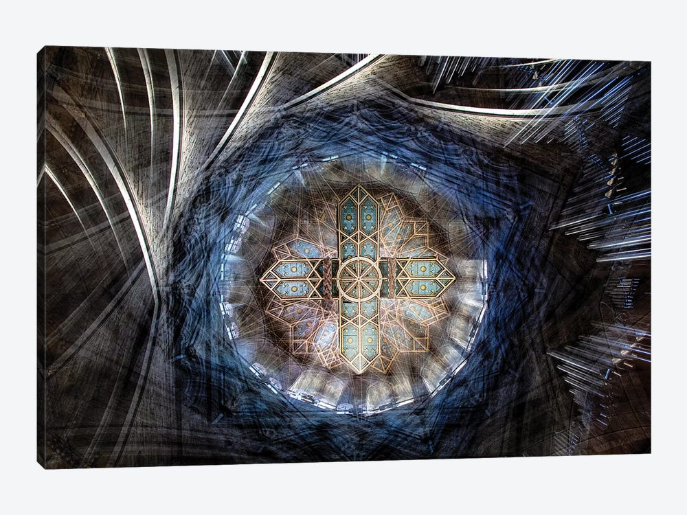 St. David's Cathedral Roof by Simon Pearce 1-piece Canvas Artwork
