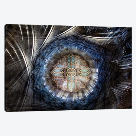 St. David's Cathedral Roof Canvas Print #OXM3193} by Simon Pearce Art Print