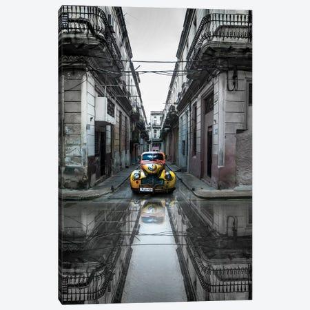 Classic Old Car In Havana, Cuba Canvas Print #OXM3211} by Svetlin Yosifov Canvas Artwork