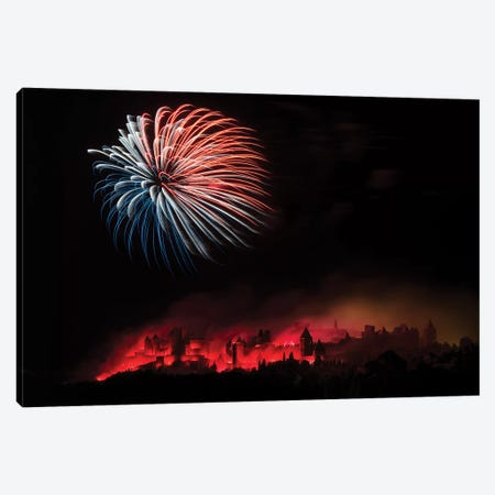 Fire Canvas Print #OXM3213} by Thierry Boitelle Canvas Art