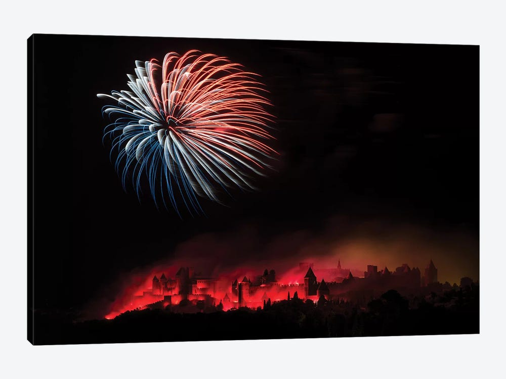 Fire by Thierry Boitelle 1-piece Canvas Art