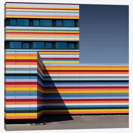 Coloured Corner Canvas Print #OXM321} by Markus Kuhne Art Print