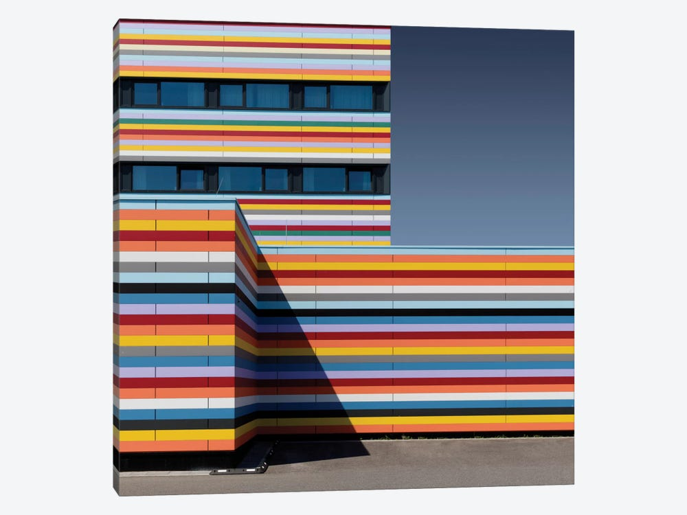 Coloured Corner by Markus Kühne 1-piece Canvas Artwork