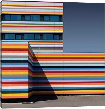 Coloured Corner Canvas Art Print