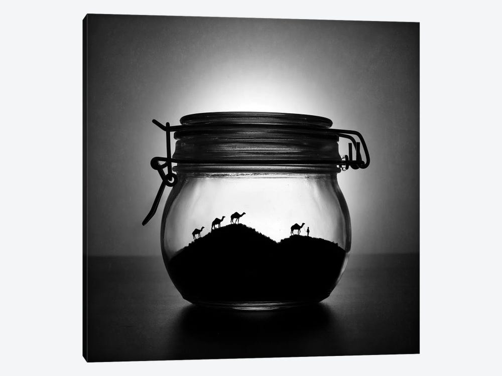 A Jar Of Sugar Sand 1-piece Canvas Print