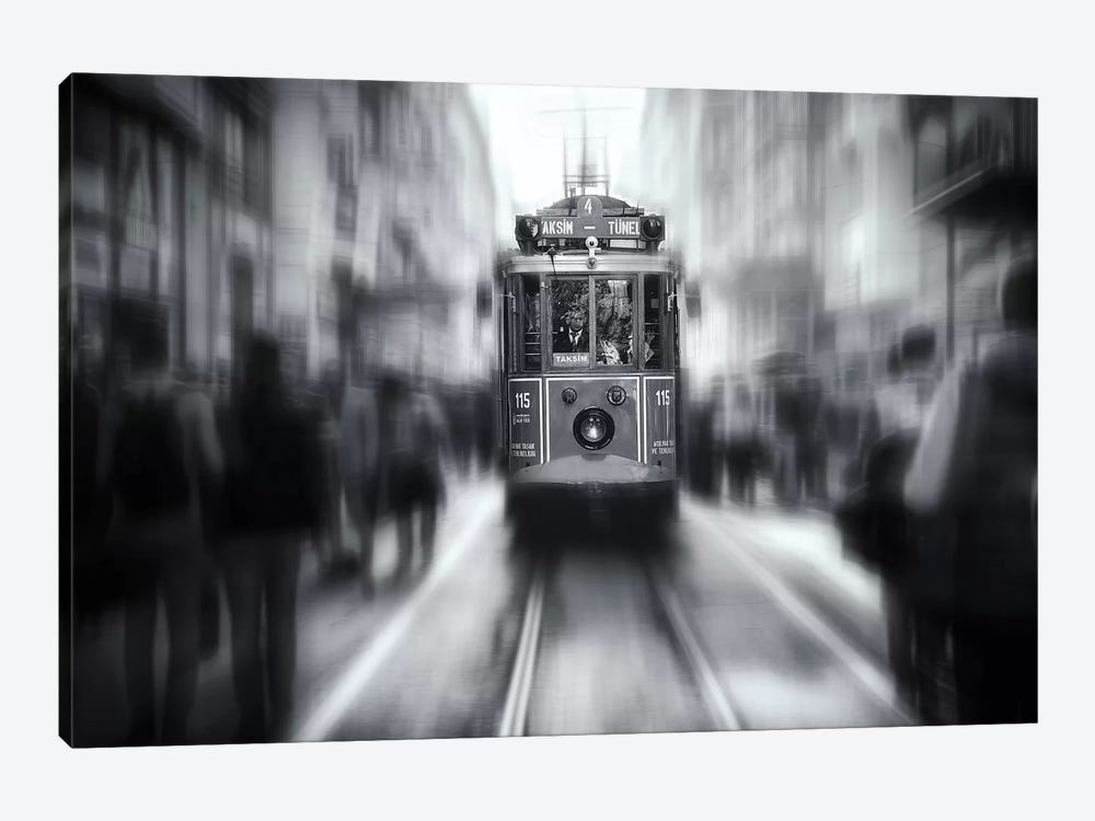 Taksim Tunel by Yavuz Pancareken 1-piece Canvas Art