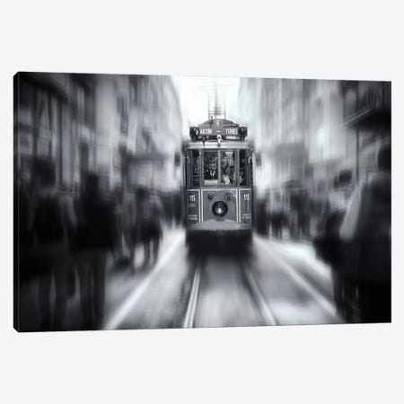 Taksim Tunel Canvas Print #OXM3233} by Yavuz Pancareken Canvas Artwork
