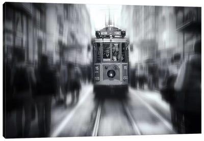 Taksim Tunel Canvas Art Print