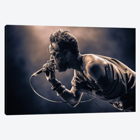 Saul Williams Canvas Print #OXM3241} by [zOz] Canvas Art Print