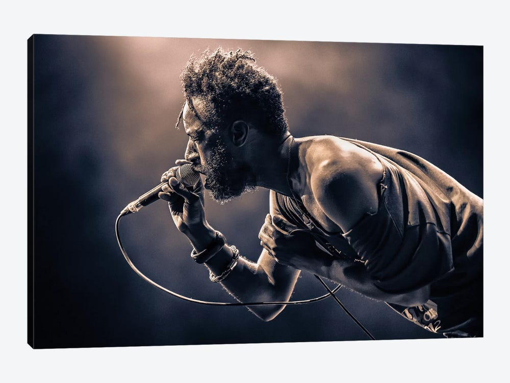Saul Williams by [zOz] 1-piece Art Print
