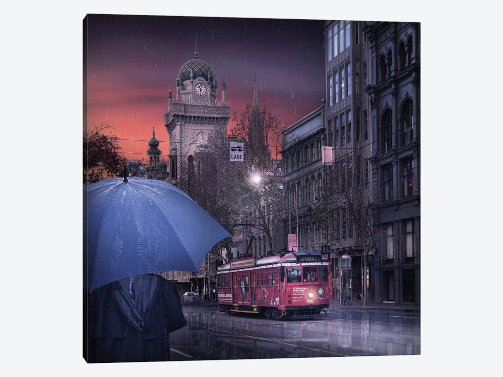 The Long Goodbye 7 by Adrian Donoghue 1-piece Art Print