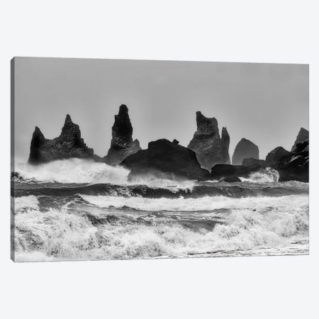 Stormy Beach Canvas Print #OXM3272} by Alfred Forns Canvas Art