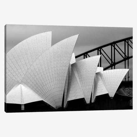 Opera House Sydney Canvas Print #OXM3277} by Alida van Zaane Canvas Art Print