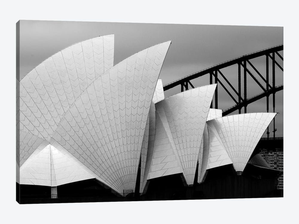 Opera House Sydney by Alida van Zaane 1-piece Canvas Wall Art