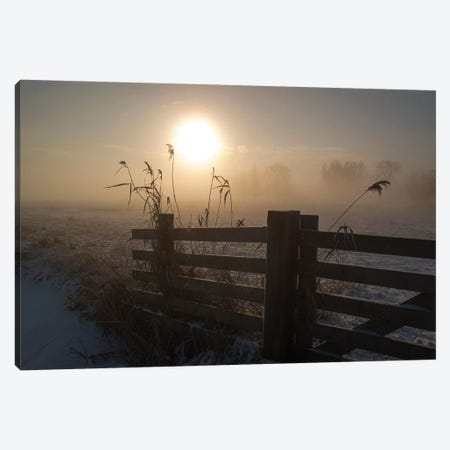 Winter Mood Canvas Print #OXM3278} by Alida van Zaane Canvas Wall Art