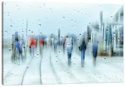 It`s Raining Canvas Art Print
