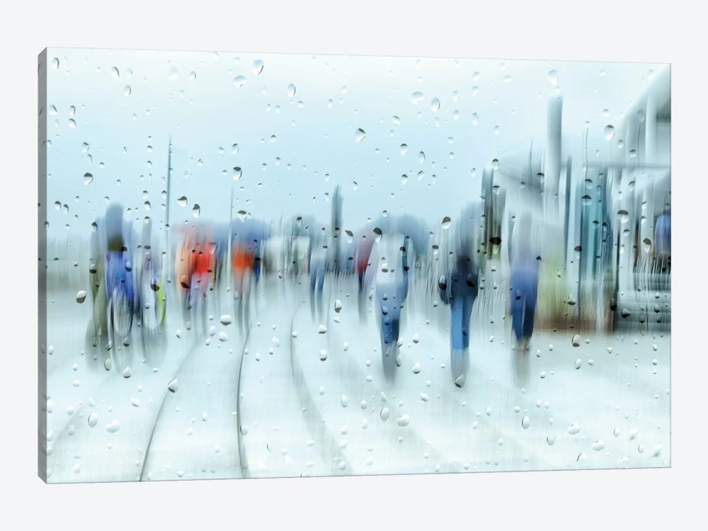 It`s Raining by Anette Ohlendorf 1-piece Canvas Wall Art