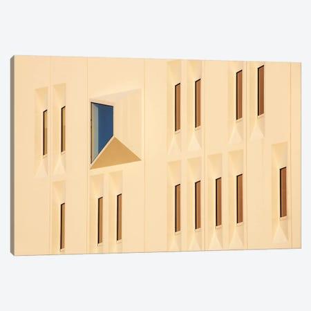 Blue Window Canvas Print #OXM329} by Lou Urlings Art Print