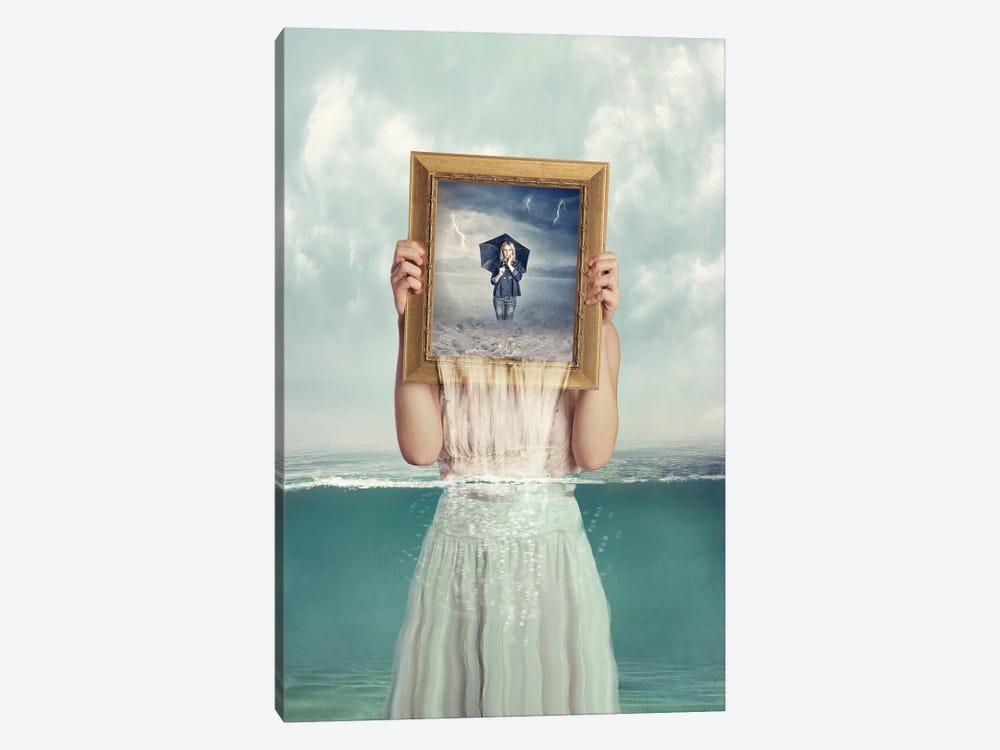 Deeper by Baden Bowen 1-piece Canvas Print