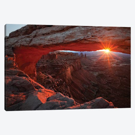 Mesa Arch Sunrise Canvas Print #OXM3330} by Barbara Read Canvas Print