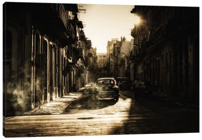 Mystic Morning In Havana... Canvas Art Print