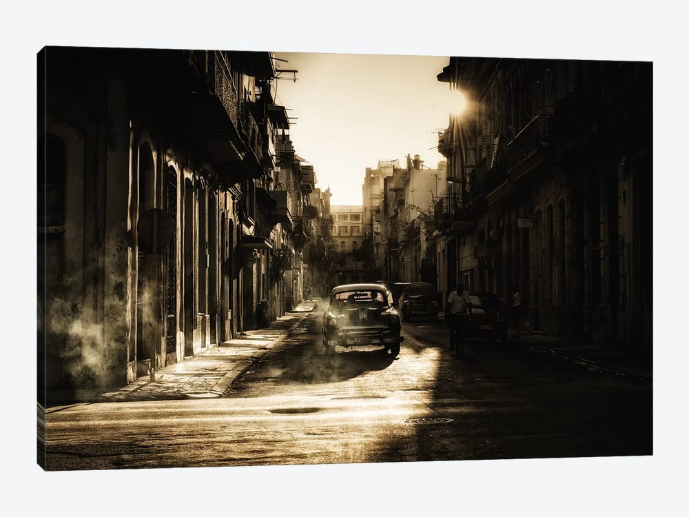 Mystic Morning In Havana... by Baris Akpinar 1-piece Canvas Art Print
