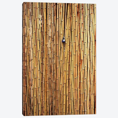 The Locked Door Canvas Print #OXM333} by Jian Wang Canvas Artwork