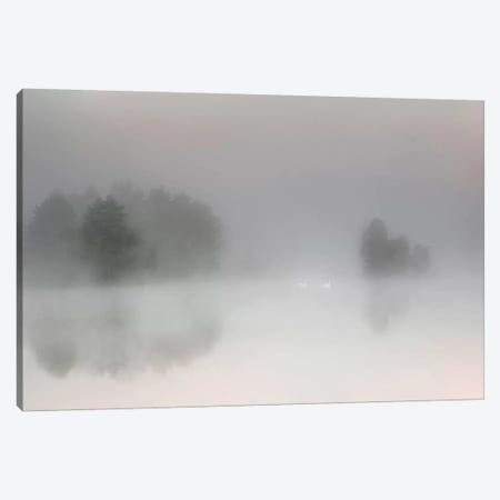 Misty Morning Canvas Print #OXM3346} by Bjorn Emanuelson Art Print