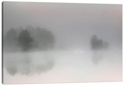 Misty Morning Canvas Art Print