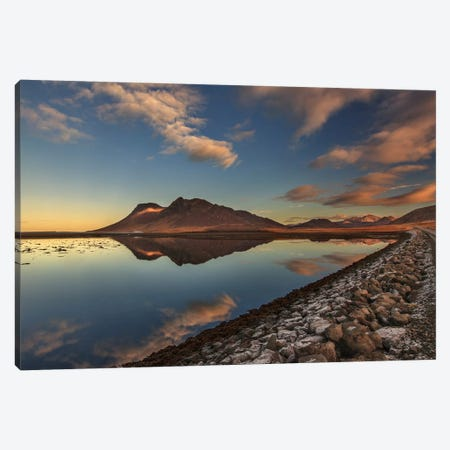 Autumn Lights Canvas Print #OXM3351} by Bragi Ingibergsson Canvas Print
