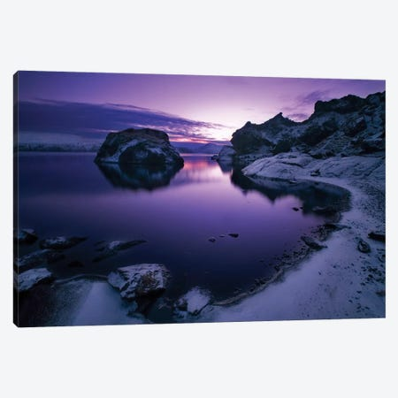 Ortus Solis Canvas Print #OXM3360} by Bragi Ingibergsson Canvas Wall Art