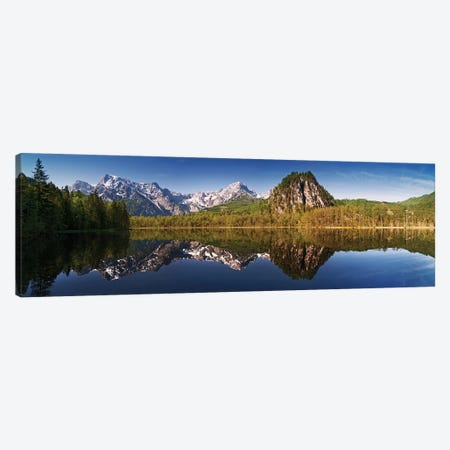 Almsee Canvas Print #OXM3369} by Burger Jochen Canvas Artwork