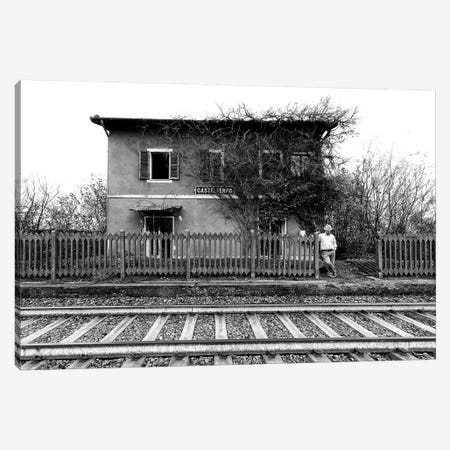 The Station Of Castelferro Canvas Print #OXM3379} by Carlo Ferrara Art Print