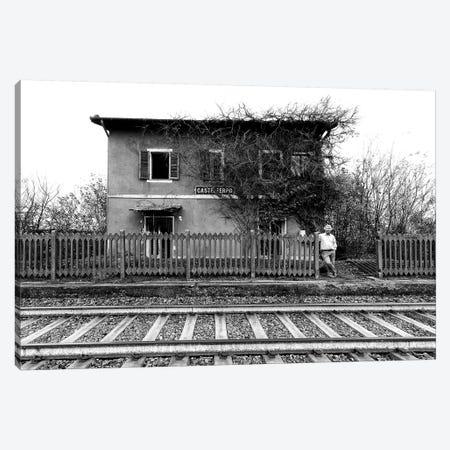 The Station Of Castelferro Canvas Print #OXM3379} by Carlo Ferrara Art Print