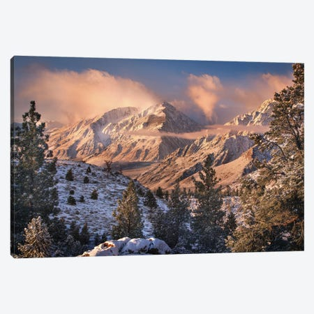 Mountain Light Canvas Print #OXM3386} by Chris Moore Canvas Print