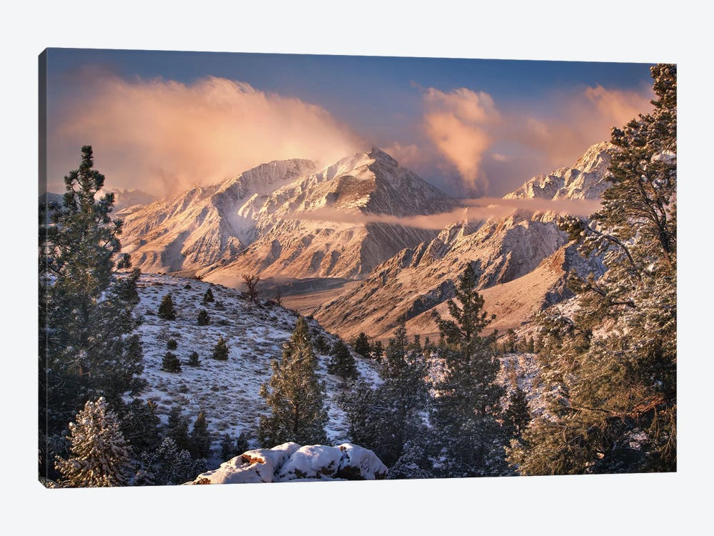 Mountain Light by Chris Moore 1-piece Canvas Art Print